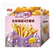 【卡迪那95℃】薯條-北海道起司風味(18gx5包)