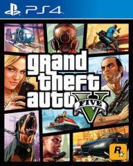 【夯夯熊電玩】 PS5&PS4 俠盜獵車手5 GTA5 🀄 永久認證版/永久隨身版 (數位版)