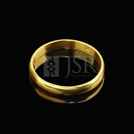 Young Gold Adult Plain Ring + - 1 Gram