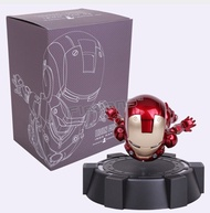IRON MAN MK MAGNETIC FLOATING ver. with LED Light Iron Man Action Figure Collection Toy