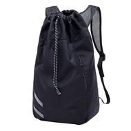 1 ชิ้นผู้ชายสบาย ๆ กระเป๋าเป้สะพายหลัง กีฬาสร้างสรรค์ถุงถังยิมกระเป๋าเป้สะพายหลังบาสเกตบอลฟุตบอลเดินทางกระเป๋าเป้สะพายหลัง