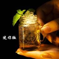 【原始森林】創意雞尾酒杯子彈杯迷你公雞杯創意梅森子彈杯果汁杯女士烈酒水杯