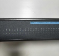 24Port  10/100 switch 交換器 HUB