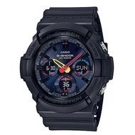 CASIO卡西歐G-SHOCK GAS-100BMC-1A科技感十足的霓虹色系點綴錶盤細節搭載世界時間等功能52.5mm