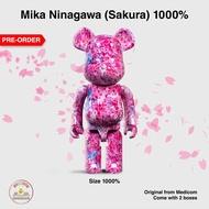 1000% Mika Ninagawa (Sakura) Bearbrick [Pre-Order]