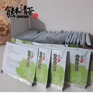 【熊本清茶】坪林文山包種原片式茶包60入(量販家庭包)