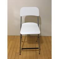 [狂降]二手Ikea白色折疊吧台椅(高腳椅)
