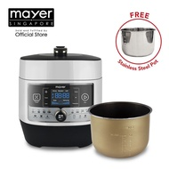 Mayer 6L Intelligent Multi-Pressure Cooker MMPC6062A FREE Stainless Steel Pot
