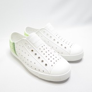 Native JEFFERSON BLOCK JUNIOR 中童洞洞鞋 121001028862 白綠【iSport】