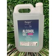 (เจล)(น้ำ) แอลกอฮอล์ล้างมือ เจล เจลล้างมือ 5000ml 70 แอลกอฮอล์สเปรย์ 75 4,800ml เจลใช้ในออฟฟิศ เจลพกพา
