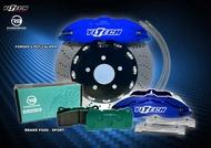 HONDA 喜美八代 九代 FD2 FIT TYPE-R CRV 專用 鍛造 六活塞 卡鉗 煞車套件