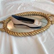 Stella flat รองเท้าคัชชูหัวตัดส้นเตี้ย สีนู้ด สีดำ สีช็อค