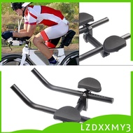 HOT  Bicycle Aero Bar Triathlon Bike Tri Bars Arm Relaxation Arm Rest Handlebars