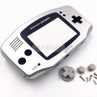 全新GBA游戲機機殼 GBA主機外殼 限定版銀色Game Boy Advance外殼