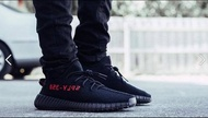 "adidas Originals YEEZY BOOST 350 V2 CP9652 ""BLACK/RED"" 黑紅"