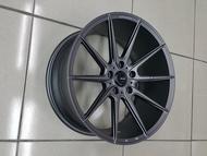 ╭☆輪鋪☆╯全新 MAT16 旋壓輕量化鋁圈 18吋5孔112 平光灰-VW/AUDI/SKODA/BENZ