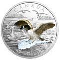 2018 加拿大3D天鵝展翅精鑄銀幣