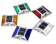 太陽能警示燈 LED太陽能道釘 太陽能道釘燈 道路警示燈 反光警示 公路燈 道路燈 貨車警示燈