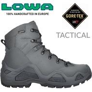 Lowa 軍靴/戰術靴/戰鬥靴/中筒軍用鞋/防水登山鞋 Z-6S GTX Mid男 LW310668 0737鐵灰