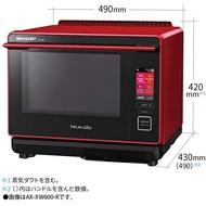 JP電器 SHARP 夏普 AX-XW600 水波爐 過熱水蒸氣 微波爐 烤箱 30L 附中文說明書