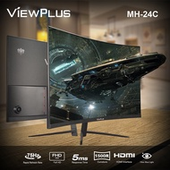 ✗❁❖  Viewplus 24 inch Curved Monitor 75HZ PC computer desktop Screen Schooling Homebase Work Gaming MH-24
