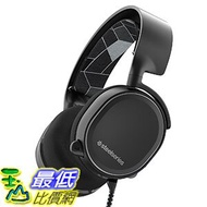 [美國直購] SteelSeries Arctis 3 黑色 電競 遊戲耳機 Gaming Headset with 7.1 Surround for PC, PlayStation 4, Xbox One, VR