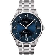 TISSOT 天梭錶 Chemin des Tourelles80小時動力儲存腕錶  T0994071104800