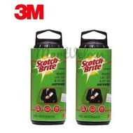 3M Scotch Brite Lint Roller Refill 30 SHEETS [836RF-30] [Bundle of 2]