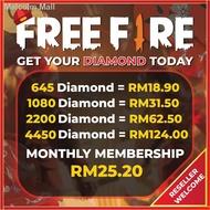 卍Free Fire Diamond   Instant Topup Diamond Free Fire   100% Original