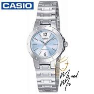 Casio Standard นาฬิกาข้อมือผู้หญิง สายสแตนเลส รุ่น LTP-1177A