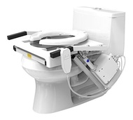 EZ-ACCESS, Tilt Toilet Lift, Single Motor, Standard Seat, Arms and Seat Move Naturally While Sitting