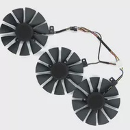 A Set Of Three For ASUS Graphics Card Cooling Fans Suitable For ASUS ROG-STRIX-RTX 2060 2070-O8G-GAMING RTX2060 RTX 2070 Graphic