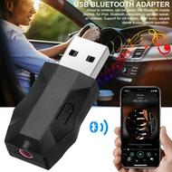 USB Bluetooth 5.0 Music Receiver 3.5MM Audio Transmitter Hands-free Car Adapter Dongle 5.0 EDR Recei