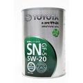 【易油網】TOYOTA日本原裝 豐田 原廠機油 5W20 5W-20 油電車一公升鐵罐 Hybrid Camry Prius RAV4 LEXUS適用 1L