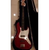 {售} 二手樂器Fender American Jazz Bass  2001年出廠  序號Z1000460 附原廠硬盒 用料極佳