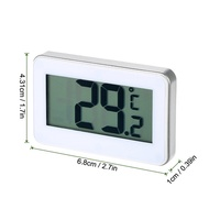 Digital LCD Display Fridge Freezer Refrigerator Frost Alert Thermometer Celsius Fahrenheit Switchabl