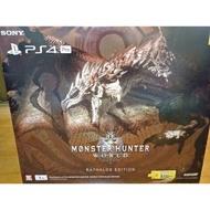 PS4 PRO 魔物獵人 世界同捆 火龍機
