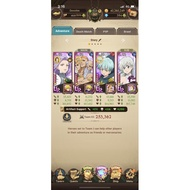 Asia 7DS Seven Deadly Sins Grand Cross Account