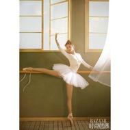 liu#熱賣半身芭蕾舞短裙蓬蓬裙 成人寫真超短白紗裙 小天鵝半截網紗演出服