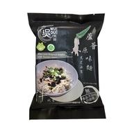 吳獨麵 蘆薈麵-120gX2包/袋(原味麵+黑芝麻醬)[大買家]