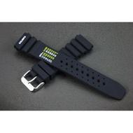 22mm silicone strap不鏽鋼錶扣高質感矽膠錶帶替代原廠貨citizen星晨,seiko精工