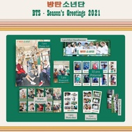 Fankit Bts Season Greeting 2021 / Bts Season Greeting Package 2021 / Bts Full Member