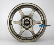 【美麗輪胎店】類日本SSR 輕量化 5.1KG 15吋 4孔100 & 4孔108 7J 消光古銅