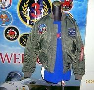 嘎嘎屋 台灣製 空軍 飛行夾克 制式 飛夾 雙面穿JU-001