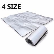 Waterproof Aluminum Foil Camping Mat Foldable Folding Sleeping Picnic Beach Mattress Outdoor Mat Pad