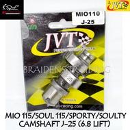 JVT CAMSHAFT J-25 (6.8 LOBE LIFT) FOR MIO115/SOUL115/SPORTY/SOULTY