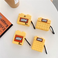 AirPods 1/2/3代 AirPods Pro LEGO 樂高 矽膠保護套