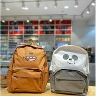 We Bare Bears Backpack Miniso