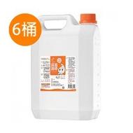 生發75%清菌酒精4公升6桶 (藥品級)