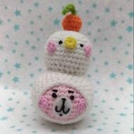 *毛線娃娃*卡娜赫拉&P助變裝雪人